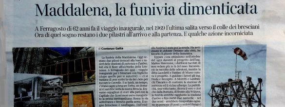 Goodmorning Brescia (54) – Leonessa e Lupa tra cielo e (sotto)terra