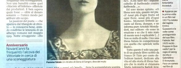 Goodmorning Brescia (55) – Quel film muto al Vittoriale… a luci rosse.
