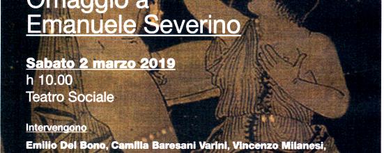 Goodmorning Brescia (139) – Palcoscenico e filosofia